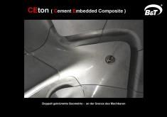 Architektonische Details der Roca London Galerie